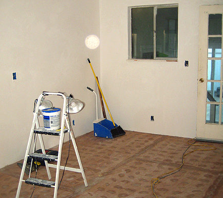 DRYWALL, EASIER SAID THAN DONE