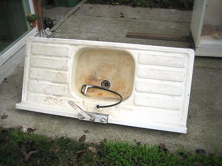 Weekend Project | Basement Sink
