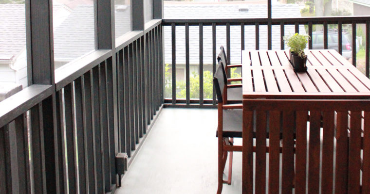 Updating the Screened Porch » Intro